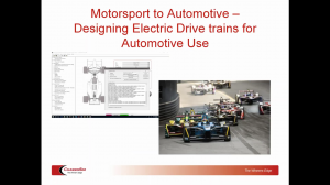 how to design electric powertrains for road cars