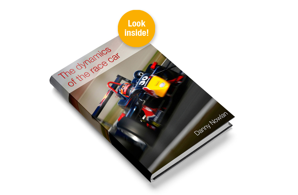 'The dynamics of the race car' hard cover books available